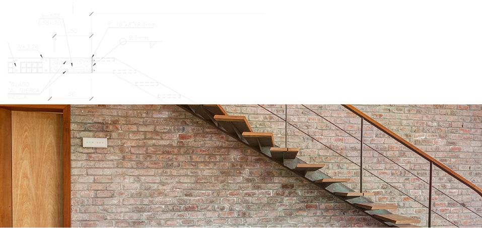 Planos y escalera de Casa en Azpitia
