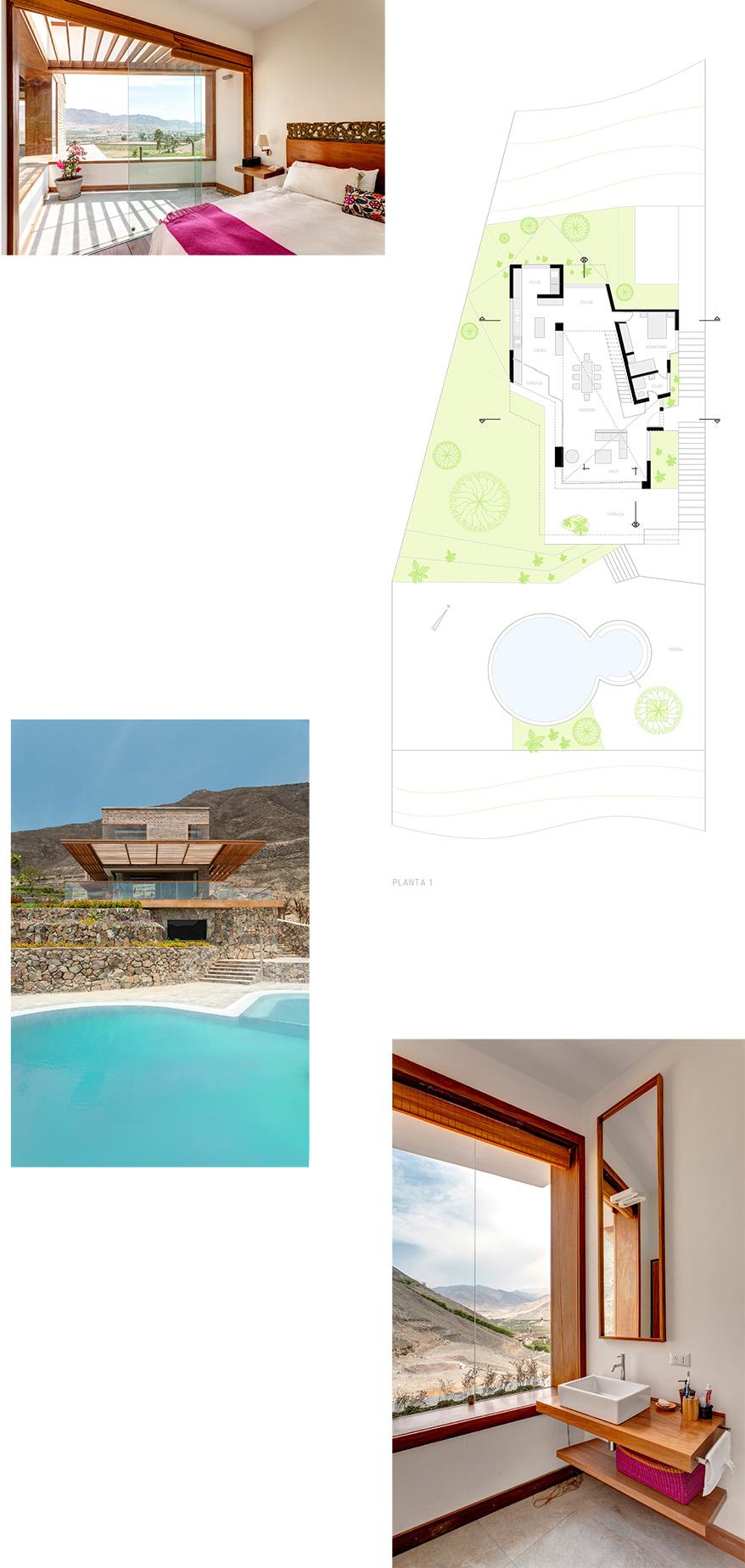 Interiores y planos de Casa en Azpitia