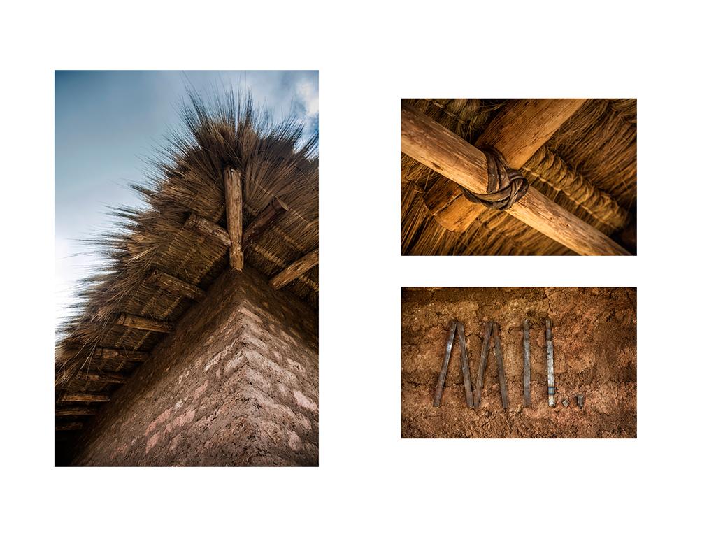 El techo de Mil Centro fue tejido con fibra de ichu a partir de la integración de técnicas constructivas tradicionales y contemporáneas. Mil Centro's roof was woven with ichu fiber, incorporating traditional and contemporary construction techniques.