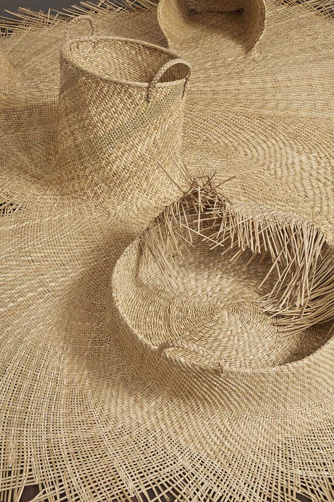 Detalle de tejido de junco