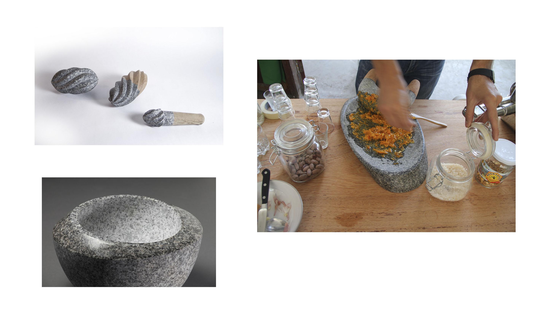 Preparación de salsa picante con el batán