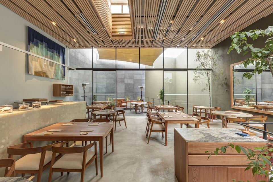 Diseño interior de restaurante Kjolle en Lima, Perú.